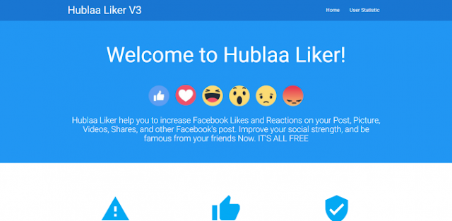 Hublaa Facebook Auto Liker Script Free Download