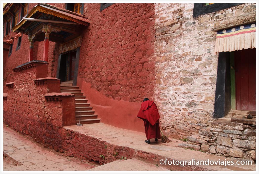 Monasterio  de Ganden, cerca de Lhasa, Tibet