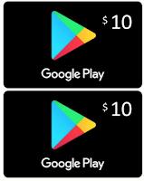 Duo Google Play Store cards por 20 dólares para 100 GB de Google Drive
