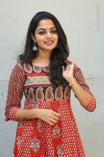 Telugu Actress Nikhila Vimal Latest Stills in Anarkali Dress  0029.JPG