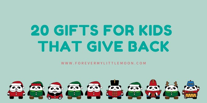 20 Gifts For Kids That Give Back
