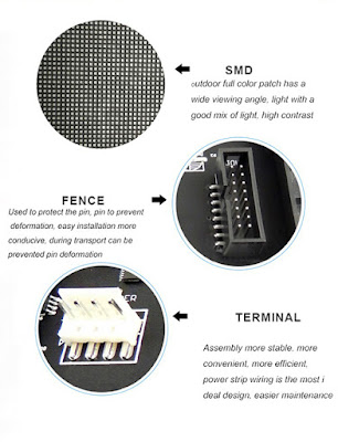 Công ty bán màn hình led p2 module led nhập khẩu tại quận 6
