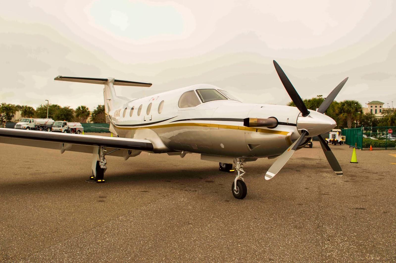 Sold 1996 Pilatus Pc 12 45