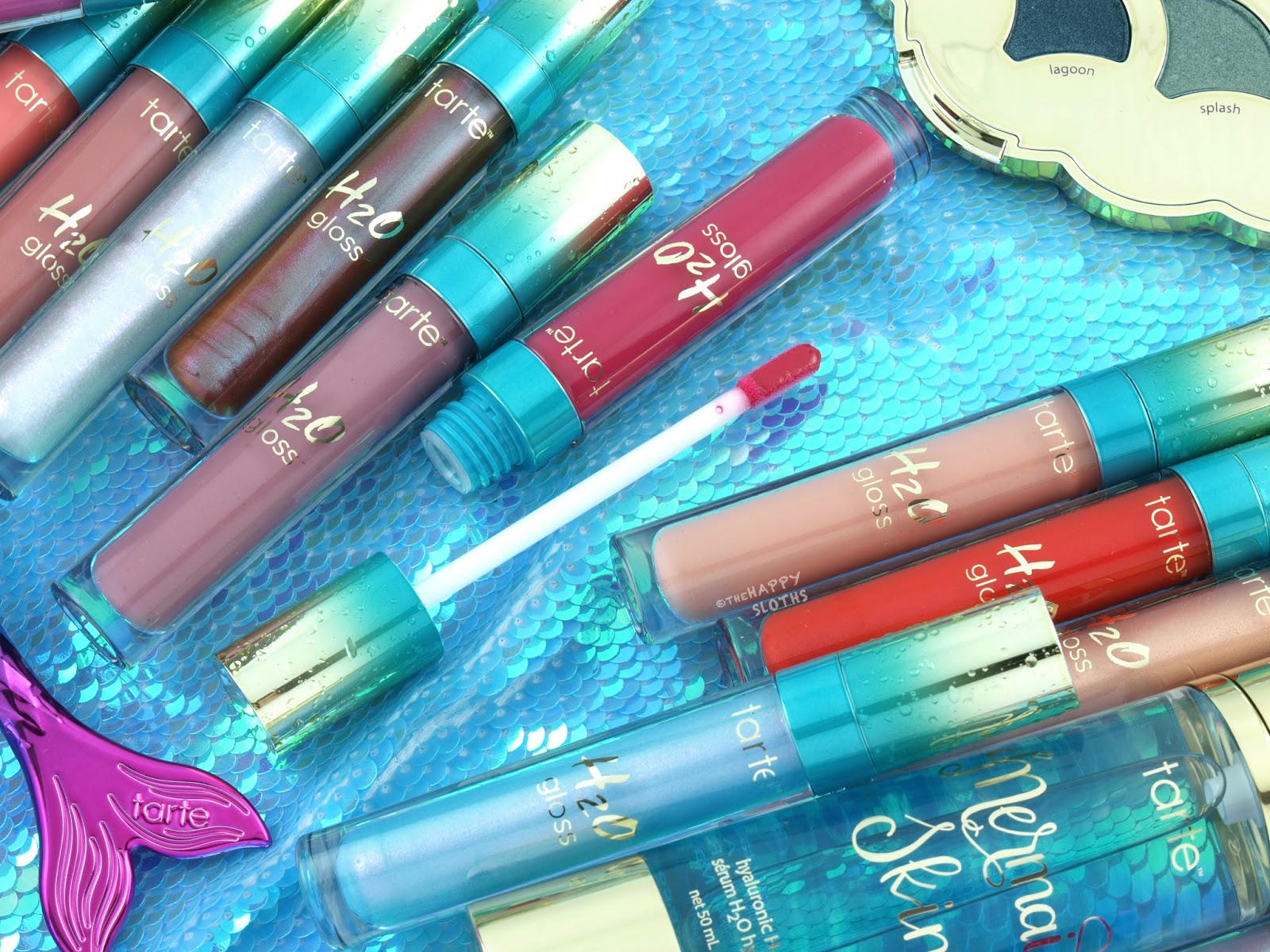 Tarte Mermaid Collection | H2O Gloss: Review & Swatches