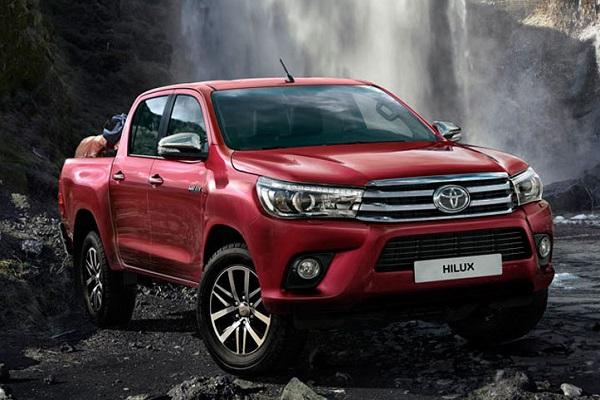 Los 10 autos más vendidos en Argentina en 2018 Toyota Hilux