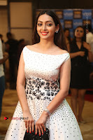 Actress Pooja Salvi Stills in White Dress at SIIMA Short Film Awards 2017 .COM 0093.JPG