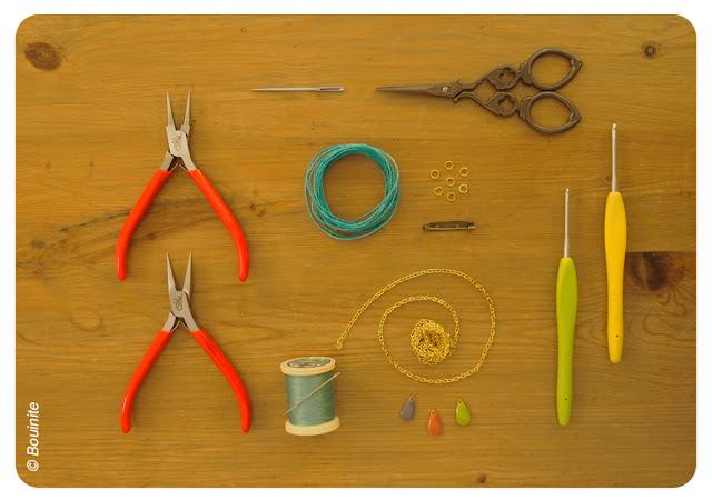 DIY, broche, nuage, perle, crochet, tuto, la perle des loisirs, bouinite, blog
