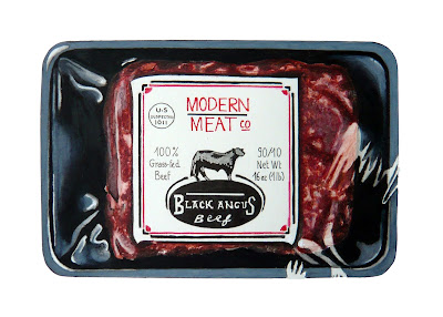 "Dessin ""Modern meat"""