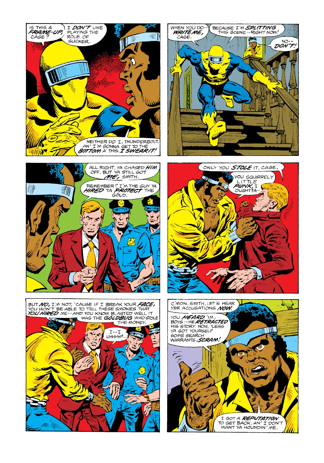 Read online Marvel Masterworks: Luke Cage, Power Man comic -  Issue # TPB 3 (Part 3) - 11