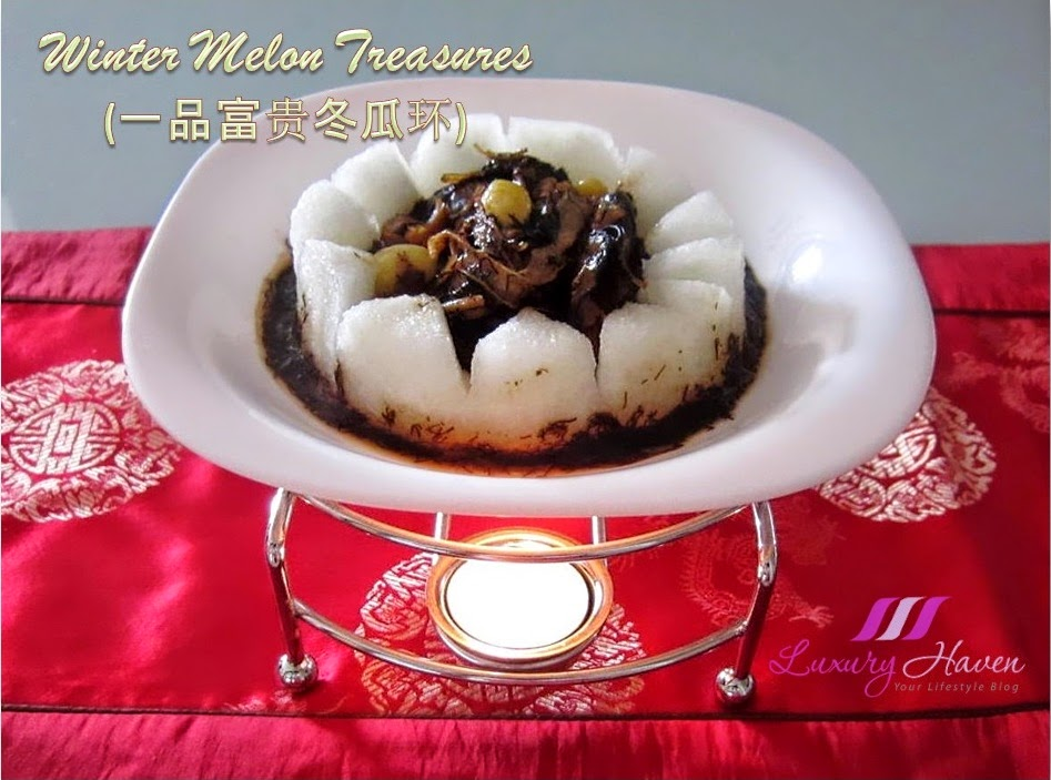 yummy lunar new year winter melon treasures recipe