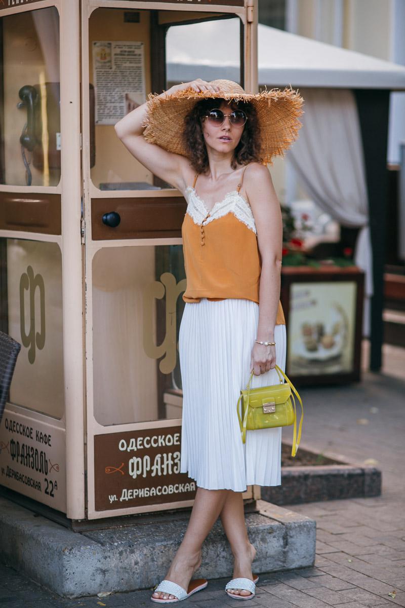 юбки плиссировки в моде