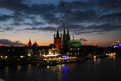 Weekend in Cologne, Germany