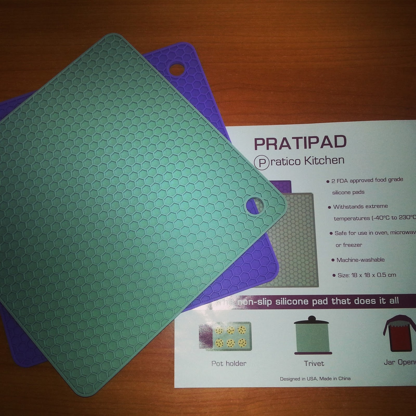 Pratipad Multipurpose Silicone Pot Holder