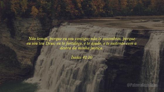 Top 10 Versículos Bíblicos - Isaías 41.10