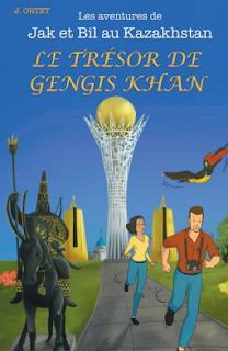 bd Le trésor de Gengis Khan de Jacques Ortet