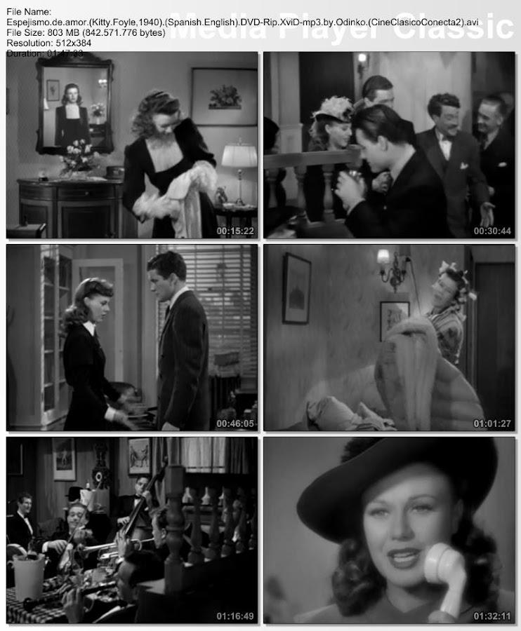 Espejismo de amor | 1940 | Kitty Foyle | Capturas de pantalla