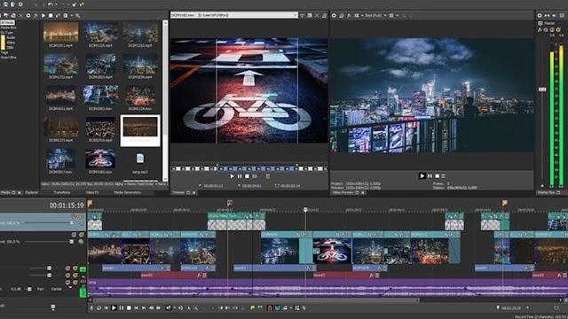 تحميل برنامج فيغاس برو 2018 للكمبيوتر - Vegas Pro لتحرير الفيديو مجانا