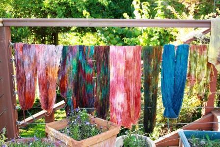 Bird In Hand Woking >> handmadebyrowena: Dyeing Workshop with Wendy Koolhof