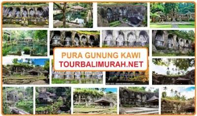 Pura Gunung Kawi Tampak Siring