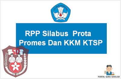 Download RPP Silabus Prota Promes Dan KKM KTSP SD Lengkap