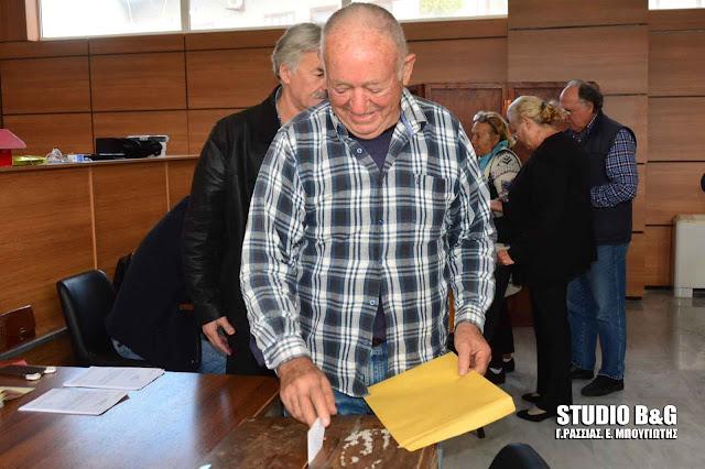 Τελικά αποτελέσματα των εκλογών της Κεντροαριστεράς στην Αργολίδα