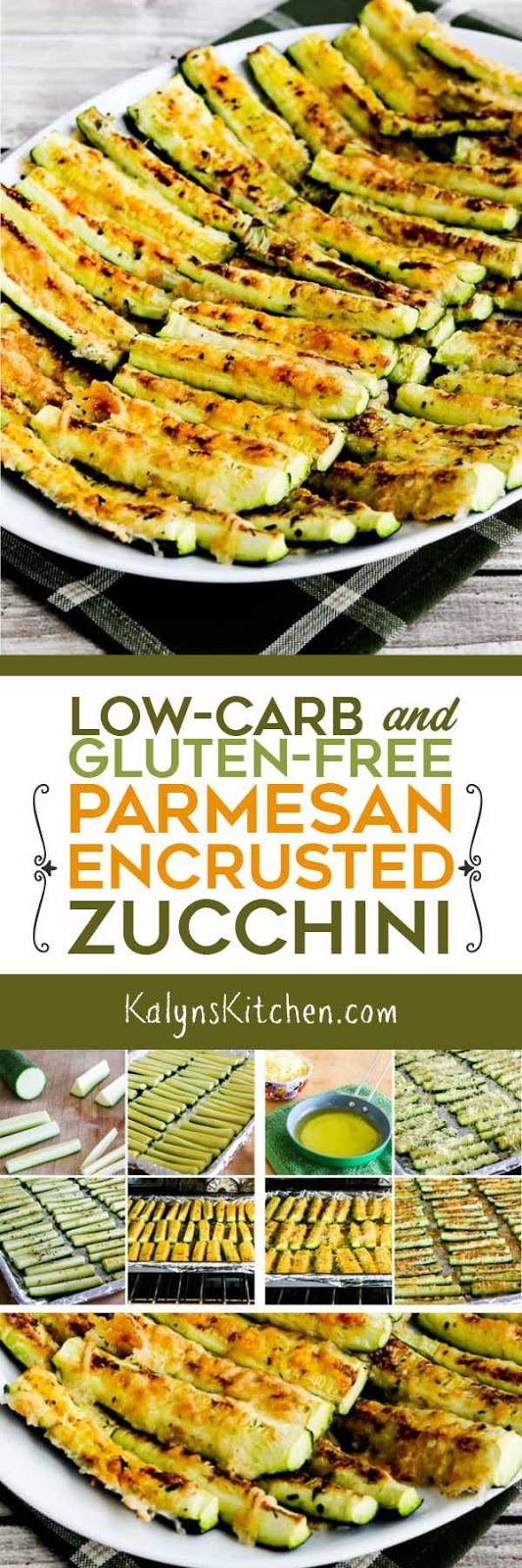 Low-Carb and Gluten-Free Parmesan Encrusted Zucchini ...