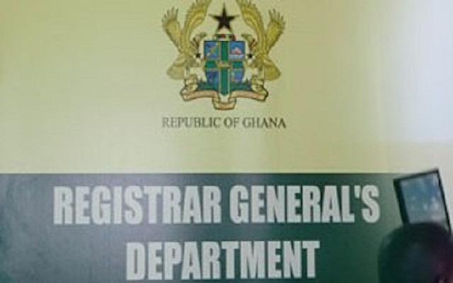 Registrar-General's Dept. inspects businesses in Ghana