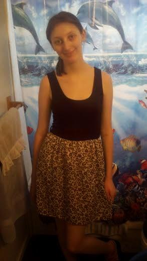 b7653c1b8c Cheetah print dress.  20.