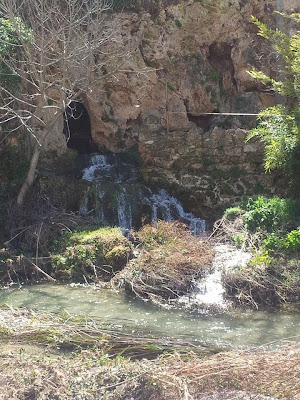 racó del toscá Beceite Beseit acequia excavada en la roca