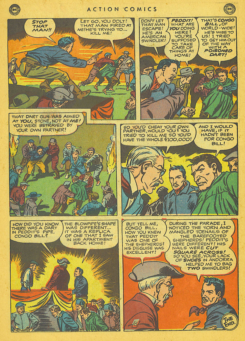 Read online Action Comics (1938) comic -  Issue #142 - 31