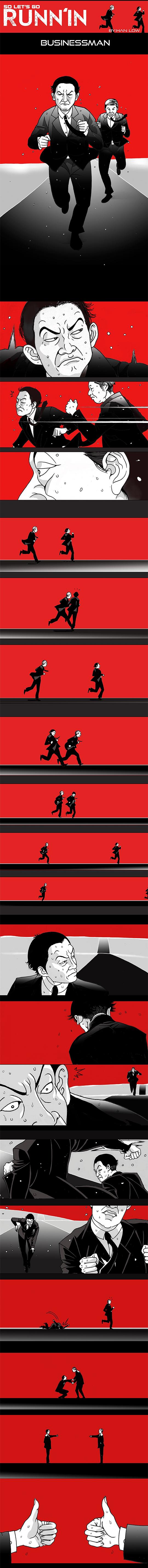 Chạy và Chạy chap 4: Thương nhân