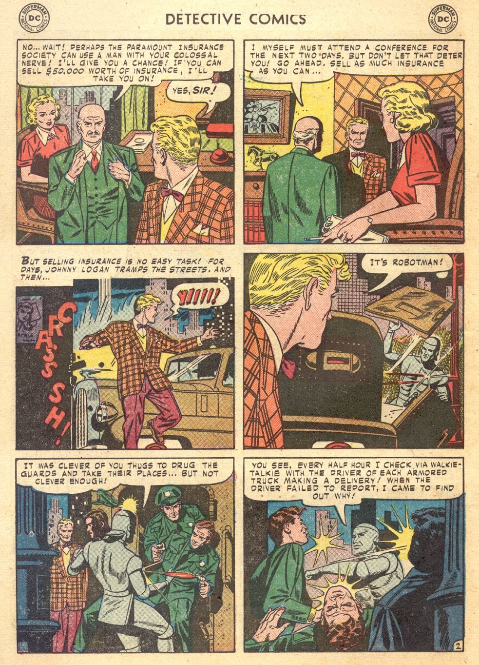 Read online Detective Comics (1937) comic -  Issue #187 - 28