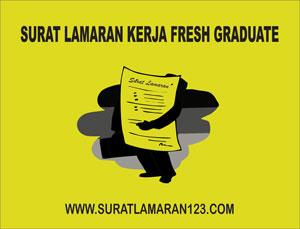 Contoh Surat Lamaran Kerja Fresh Graduate Contoh Surat Lamaran Kerja