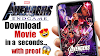 How to download Avengers endgame full movie - avengers endgame