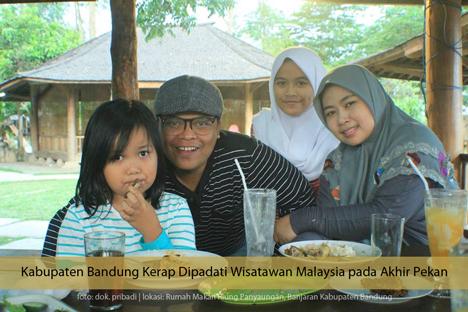 Kabupaten Bandung Kerap Dipadati Wisatawan Malaysia pada Akhir Pekan