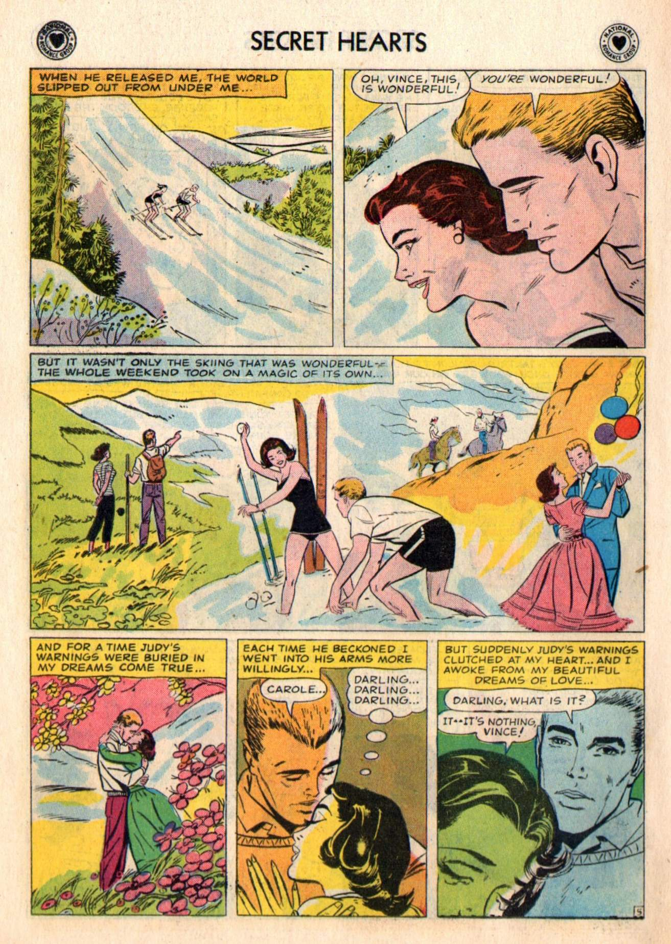 Read online Secret Hearts comic -  Issue #48 - 22