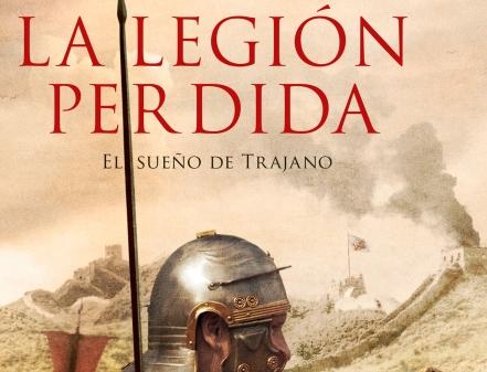 """Detalle de la portada de """"La legión perdida"""""""