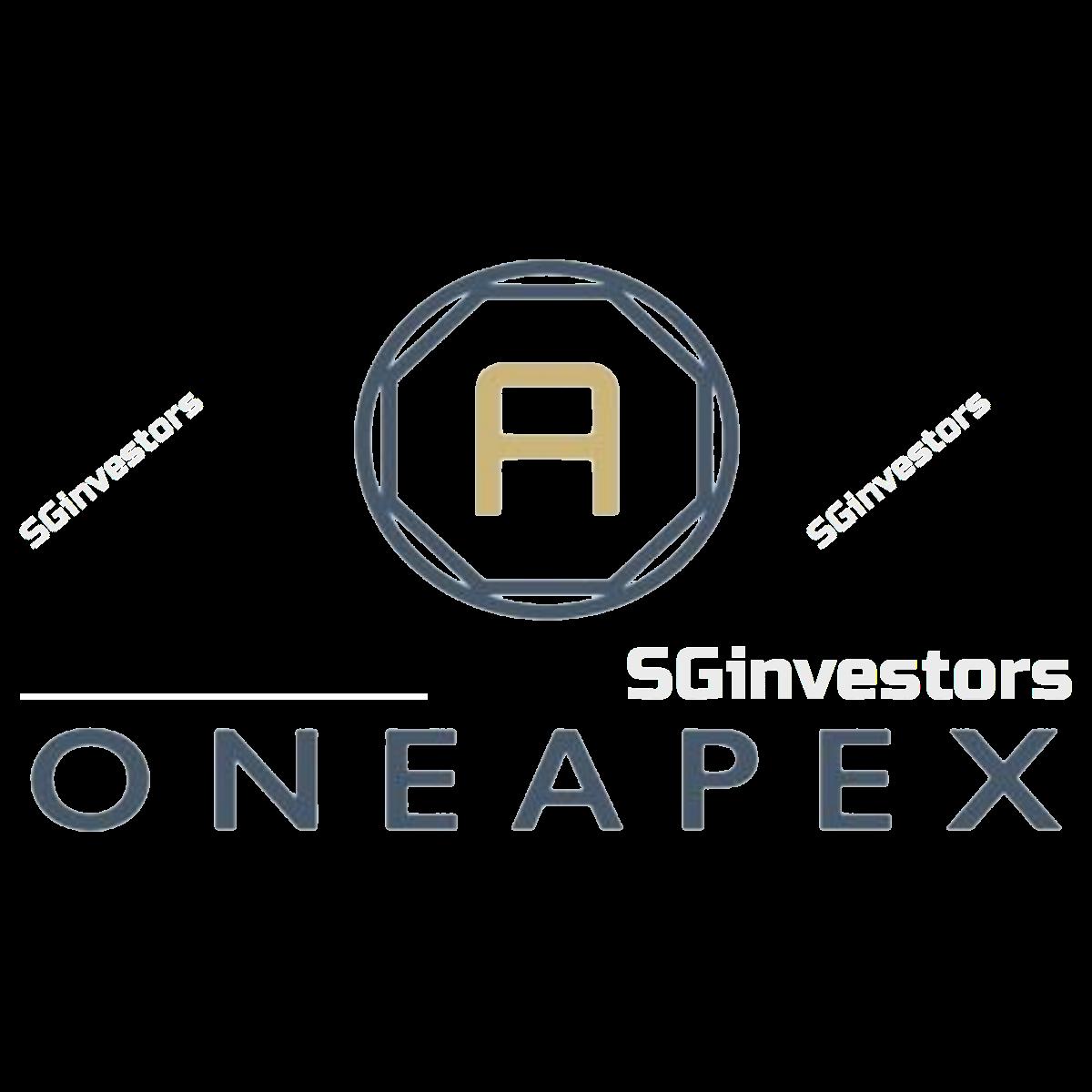 ONEAPEX LIMITED (SGX:5SY) @ SGinvestors.io