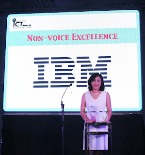 IBM Recognized For Non-Voice Excellence
