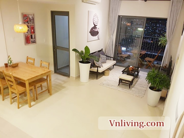 Masteri Thao Dien apartment for rent 1 bedroom in Tower 5 fully furnished