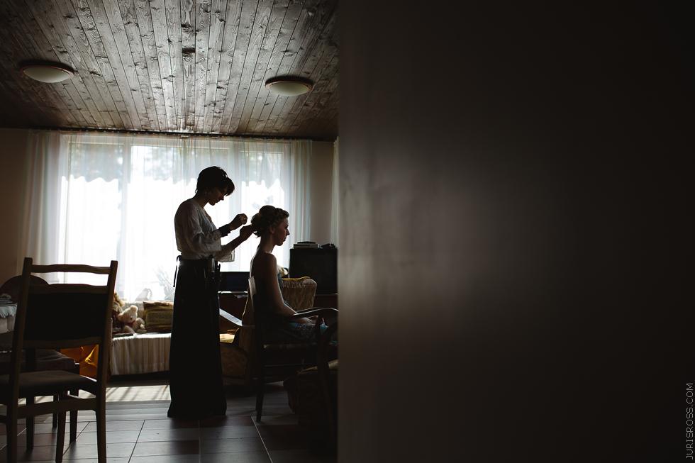 līgavas krāsošana, frizieris, make up, Gunda Zvirbule