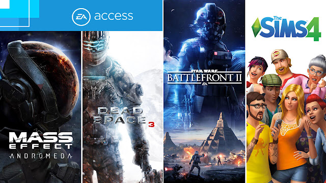 ea access vault games fall 2017