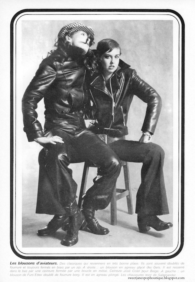 Leather Fashion 1970s