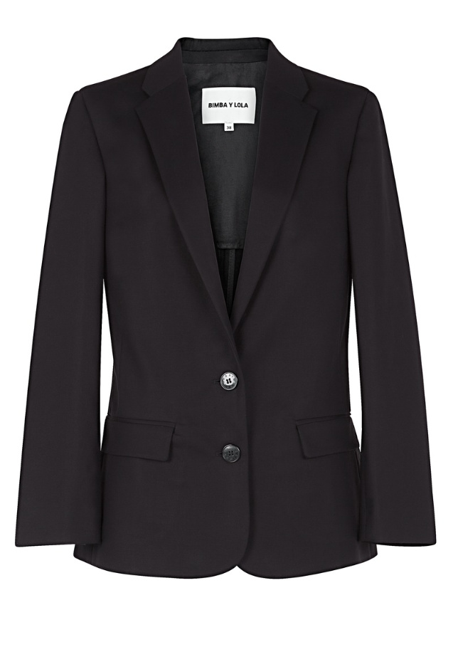 Fondo de armario rebajas FW 2015-2016 blazer negro