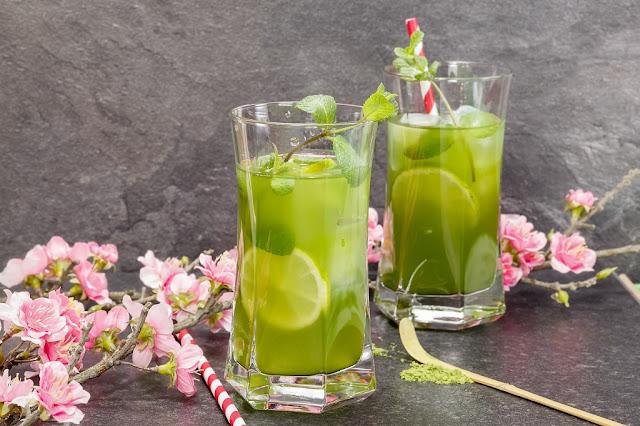 Sweeten Iced Green Tea