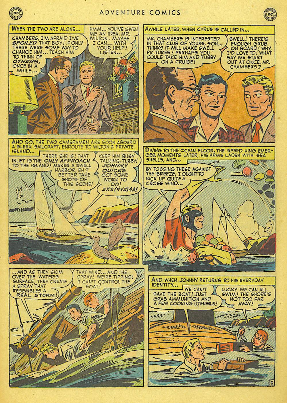 Read online Adventure Comics (1938) comic -  Issue #155 - 21