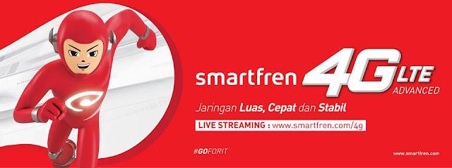 Jaringan Terluas 4G LTE Dari Smartfren Menjangkau Semua Daerah