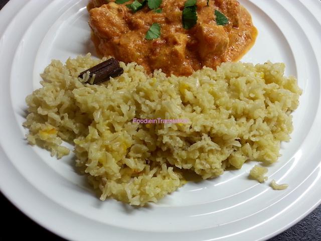 Pilau rice - Riso pilau