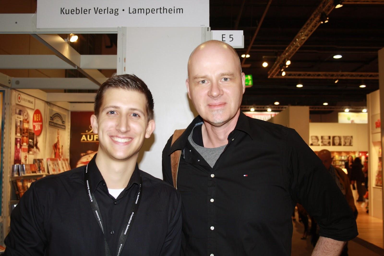 Kai Meyer und ich auf der Frankfurter Buchmesse 2014