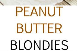 Peanut Butter Blondies